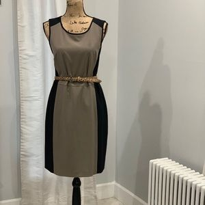 🛍 Worthington colorblock sheath dress size 16